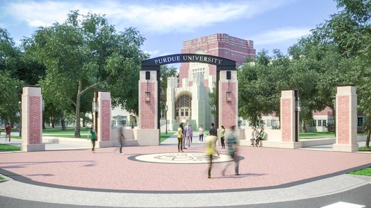 Purdue East Gate V2
