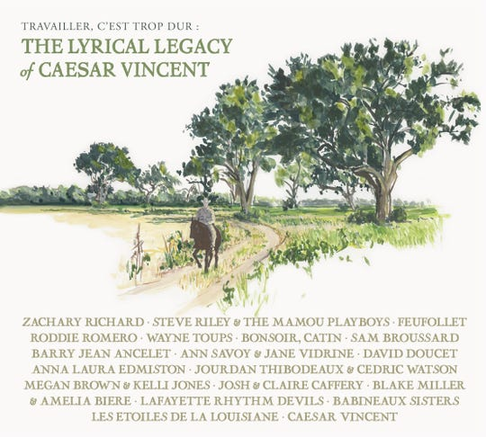 """More than two dozen artists perform on the new CD, """"The Lyrical Legacy of Caesar Vincent."""""""