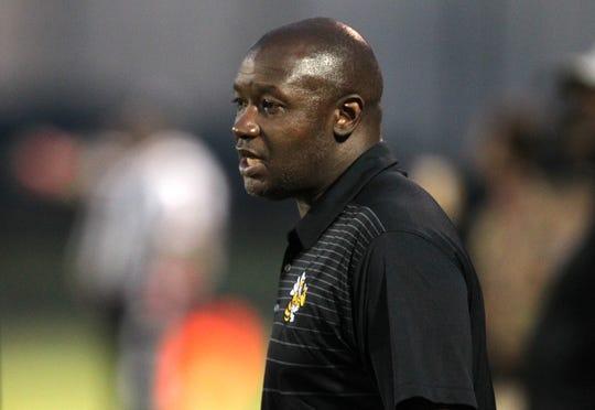 Central High School head coach Marvin Dantzler