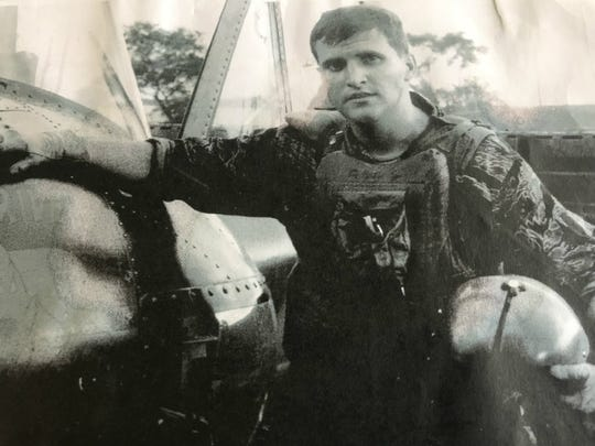 1st Lt. Mike Bongart pictured a short time before he was wounded in Vietnam Oct. 4, 1968. He was left for dead but a young Army medic decided to try to save his life.