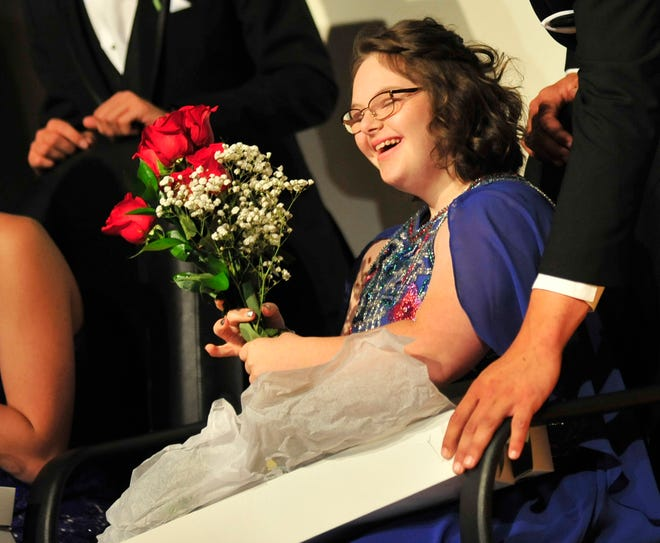 Bridget Trago was crowned the 2018 Lexington homecoming queen during a school pep rally on Friday afternoon.