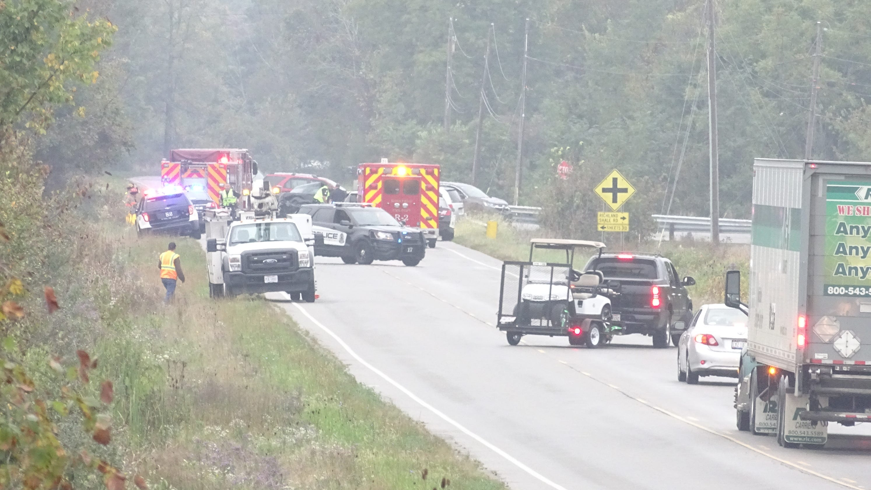 Mansfield ohio car accident today