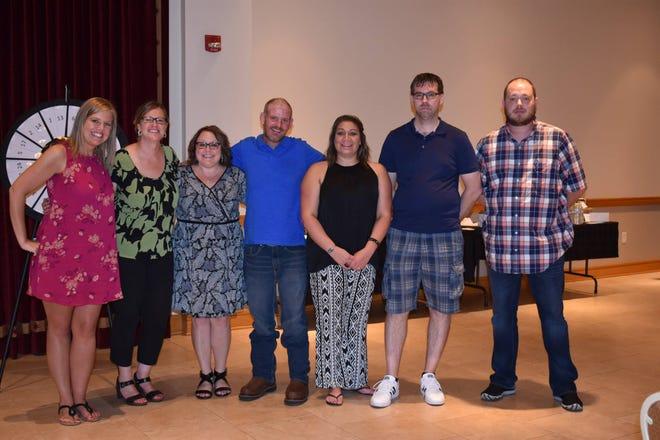 Marion Matters Board members, from left, are Mandy Knight, Amber Johnson, Heidi Jones, Ken Lillie, Neeta Shuff, Tom Stotts, and Tim Thacker.