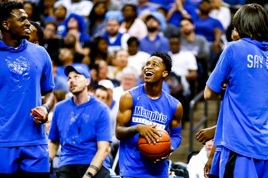 October 04 2018 - Scenes from Memphis Madness at the FedExForum on Thursday, Oct. 4, 2018.