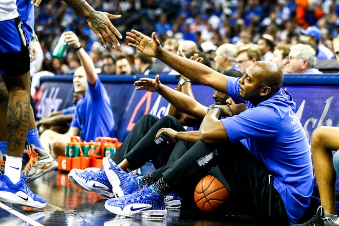 Scenes from Memphis Madness at the FedExForum on Thursday.