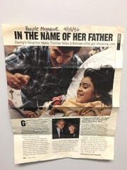 This archival clip shows People magazine's coverage of Marlo Thomas' 1996 intervention to bring Gabby Salinas to Memphis. Pictured are Gabby Salinas, then seven years old, and her father Omar, who was one of the family members later killed in a motor vehicle crash.