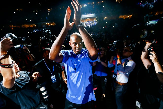 October 04 2018 - Penny Hardaway, coach the Memphis Tigers men's basketball team, is seen during Memphis Madness at the FedExForum on Thursday, Oct. 4, 2018.