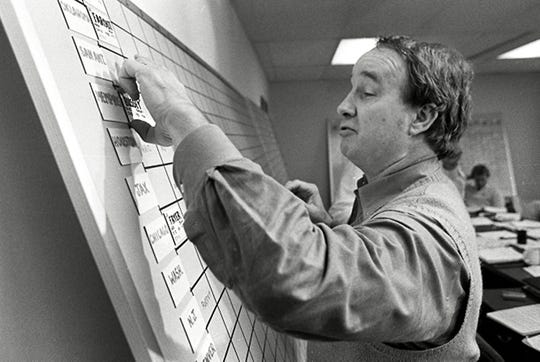 January 3, 1984 - Memphis Showboats head coach Pepper Rodgers moves the name of Barney Bussey, a cornerback from South Carolina State, to the top of the Showboats draft board as the United States Football League conducts its draft.