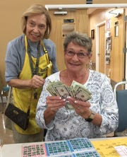 The Jewish Congregation of Marco Island began its 20th season of Monday Night (Oct. 1) Bingo with a big win. Helen Lerner of Naples won the Hot Ball prize and walked away with an extra $250 on top of her $50 prize.