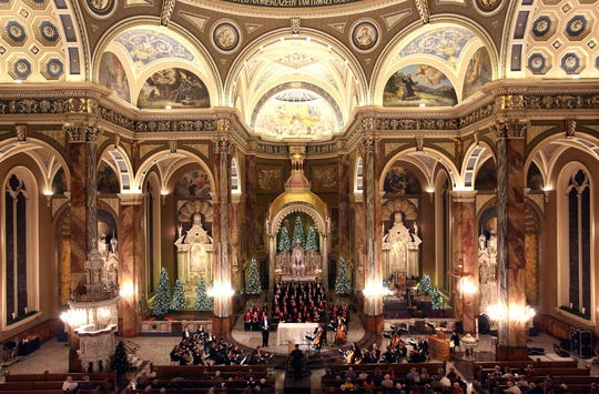The Milwaukee Symphony performs at the Basilica of St. Josaphat.