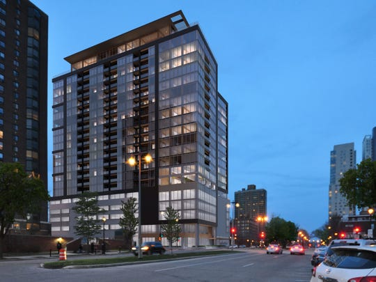 The 21-story Ascent would feature 201 apartments, ranging from one to three bedrooms.