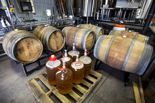 Beer is stored for future projects in The Brewing Projekt's original space.