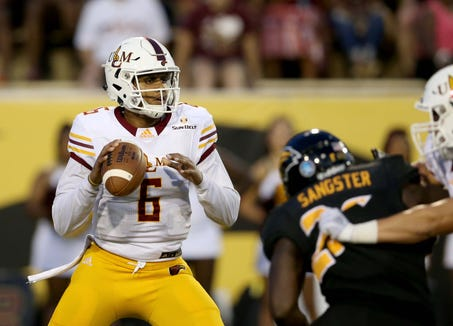 Quarterback Caleb Evans enters his senior year with 22 career starts under his belt and fifth all-time at ULM in career passing and third in career all-purpose yards.