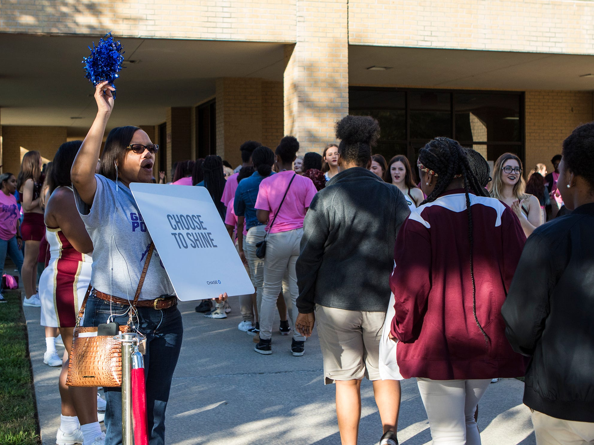 University of Louisiana at Monroe, in cooperation with Chase Bank, hosted the 2nd annual Our Girls Rock on campus in Monroe, La. on Oct. 5. The event is held for 8th grade girls to help them feel empowered and to instill a set of goals and ideas which that they can achieve more for themselves through education. The event consisted of a tour of ULM's campus by current students, a Q & A panel featuring current college students who were graduates of the four Monroe area middle schools, and 2018 Ms. Louisiana, Holli' Conway, speaking and performing.
