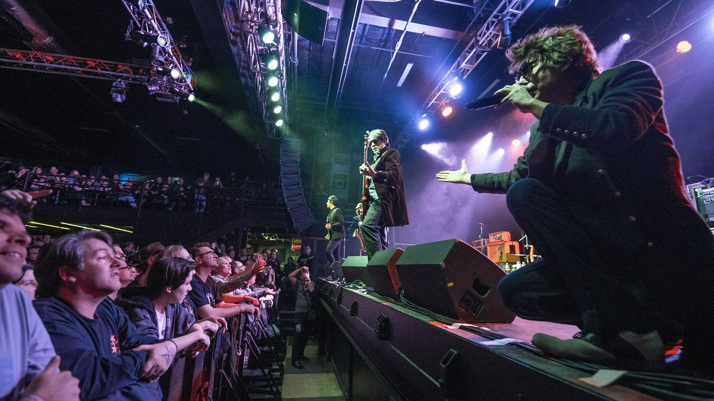 """The Psychedelic Furs will play songs from its 40-year career, including """"Love My Way"""" and """"Pretty in Pink,"""" when it comes to New Jersey for dates in Red Bank, Englewood, and Morristown over the next two weeks.  The band is still led by its co-founders, siblings Richard Butler on vocals and Tim Butler on bass."""