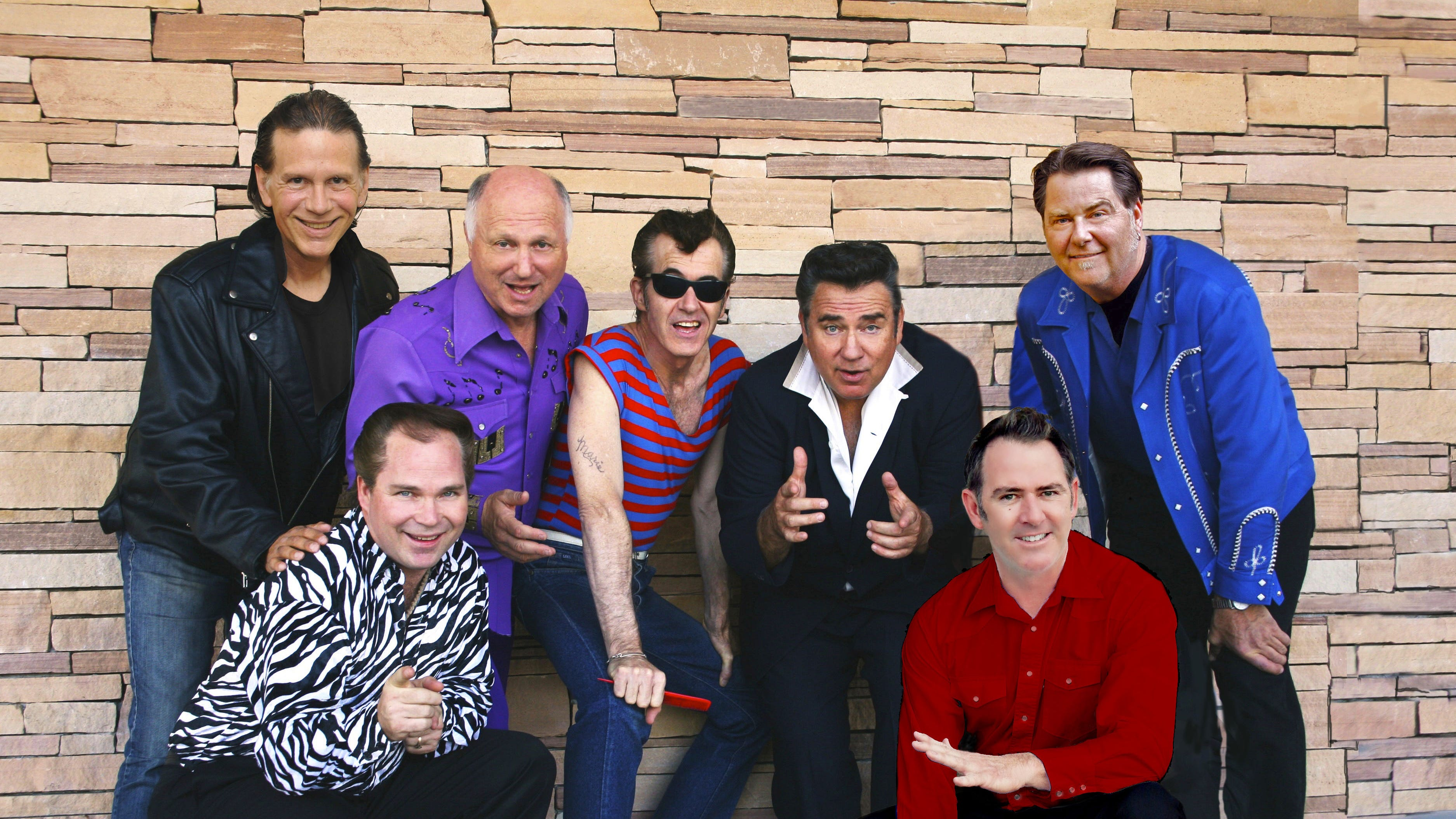 Sha Na Na, which specializes in faithful recreations of the rock 'n' roll hits of the late 1950s and early 1960s, will play the Newton Theatre on Friday, October 19.  The original line-up of the band formed at Columbia University almost 50 years ago and gained early popularity with its performance at Woodstock.