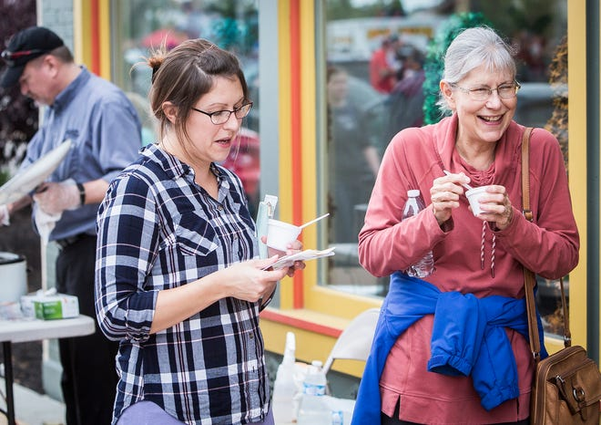 The annual Soup Crawl was part of the 2018 ArtsWalk in downtown Muncie on Oct. 4, 2018.