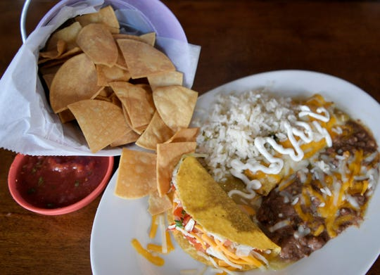 Taco Cantina restaurant in Germantown in Nashville. $7.99 lunch specials with chips and salsa