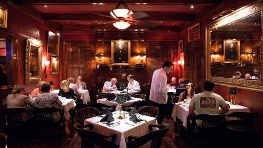 The main dining area at Jimmy Kelly's Steakhouse in Nashville, Tenn., Thursday, Oct. 4, 2018.