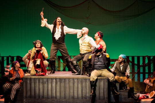 """""""Peter and the Starcatcher"""" plays through Oct. 28 in Blackburn Hall at Sugden Theatre in downtown Naples."""