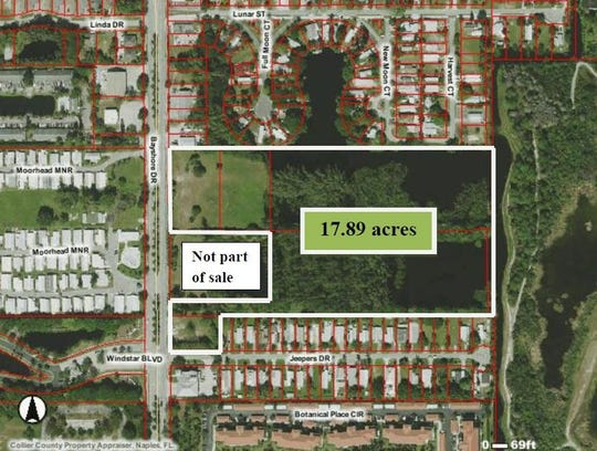 Area of Bayshore development.