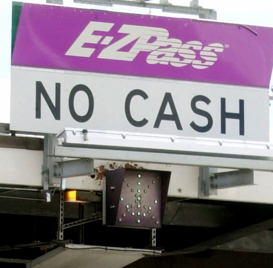 Cashless tolls: Lawsuit claims New Jersey's $50 fines for toll violations could be illegal
