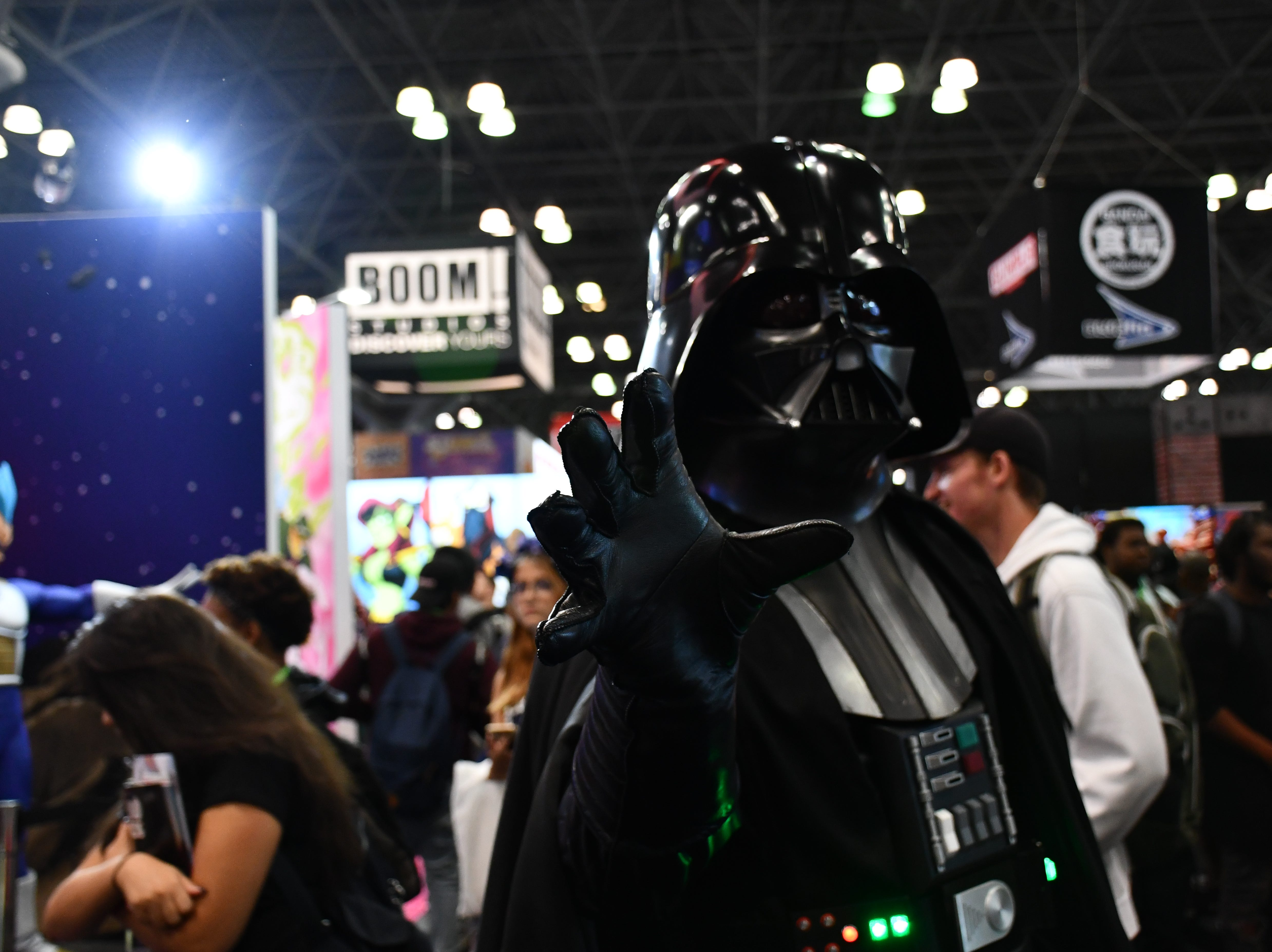 Scenes from Day 1 of the New York Comic Con at the Jacob K. Javits Convention Center in New York City on Thursday, Oct. 4, 2018.