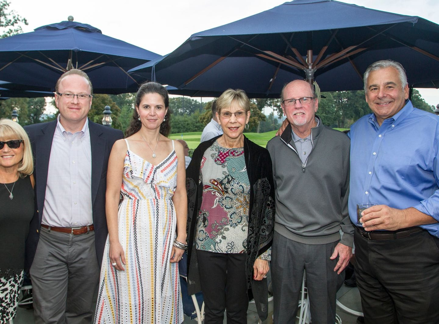 Diane Lento, Augie and Maria Zenzius, Joanne and Jim Dowling, Frank Lento. Institute for Educational Achievement held its 23rd annual Golf Classic at Hackensack Golf Club in Oradell. 10/01/2018