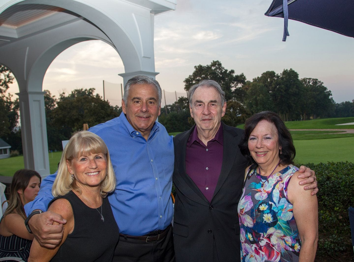 Diane and Frank Lento, Barry and Janet Arena. Institute for Educational Achievement held its 23rd annual Golf Classic at Hackensack Golf Club in Oradell. 10/01/2018