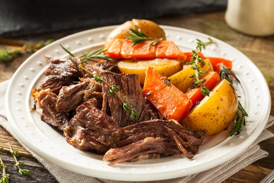 Nothing brings back warmer memories than a traditional pot roast. With root veggies and tender beef, it's the perfect choice for fall.