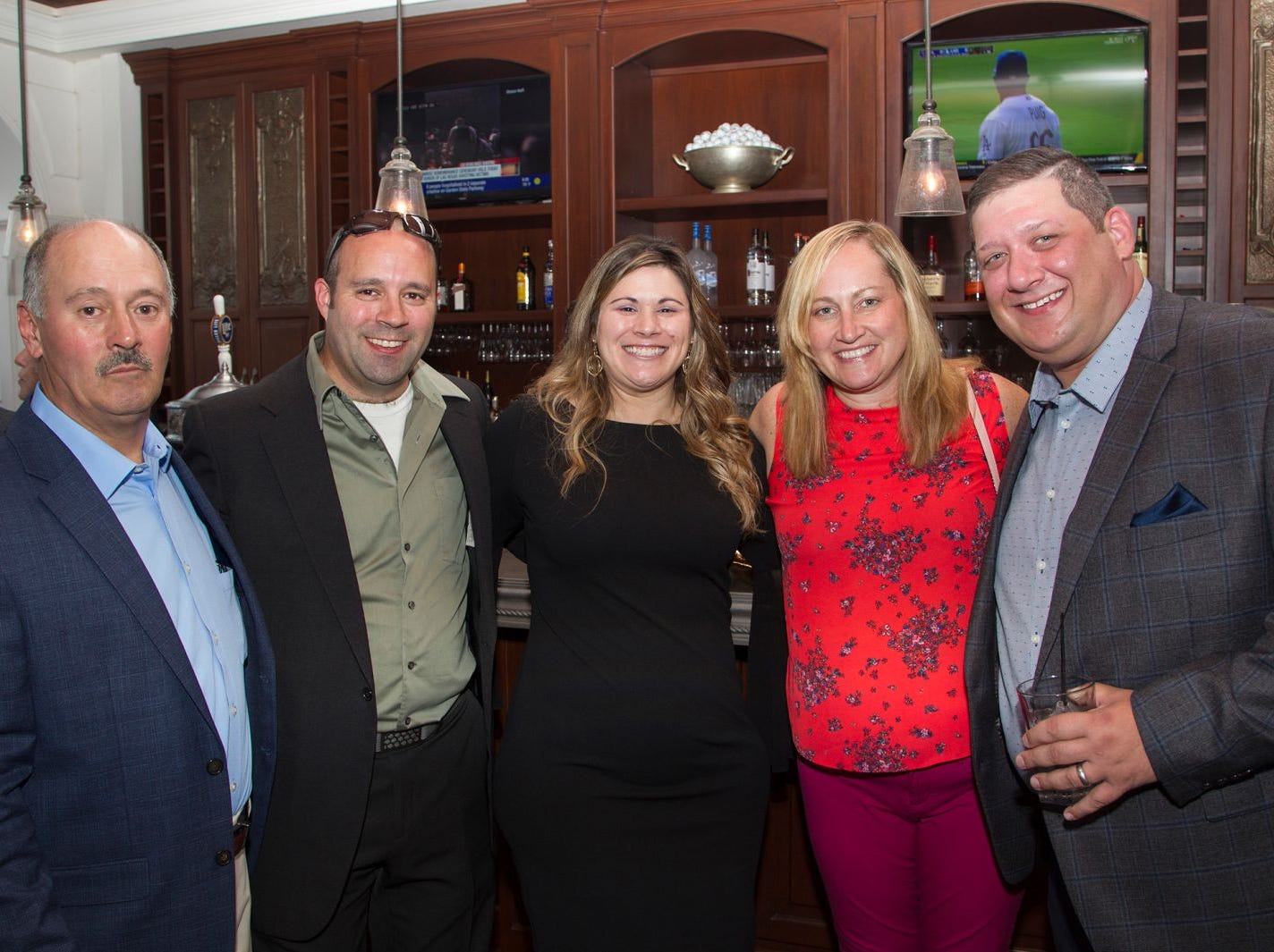 Steve  Unger Sr., Steve unger Jr., Lisa Picinic, Rebecca Unger, Wesley Picinic. Institute for Educational Achievement held its 23rd annual Golf Classic at Hackensack Golf Club in Oradell. 10/01/2018