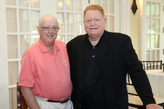 Demarest 06/23/2014 -- Pulitzer Prize winning author Dave Anderson, left, and New York Mets legend Rusty Staub during the Tenth Annual Celebrity Chefs & Friends Golf Tournament, hosted at Alpine Country Club for the Rusty Staub Foundation, which is dedicated to providing scholarships, grants and donations for charitable and educational purposes and fighting hunger by supporting food pantries serving hungry families in each of the five boroughs of New York City.