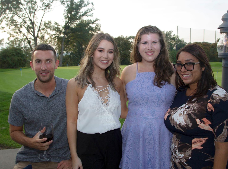 Danny Hoey, Taylore Avakian, Nicole Greene, Mari MacDonado. Institute for Educational Achievement held its 23rd annual Golf Classic at Hackensack Golf Club in Oradell. 10/01/2018