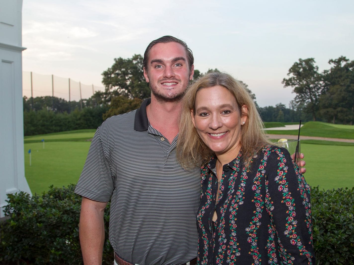 Matt Dunn and Michele Kavesh. Institute for Educational Achievement held its 23rd annual Golf Classic at Hackensack Golf Club in Oradell. 10/01/2018