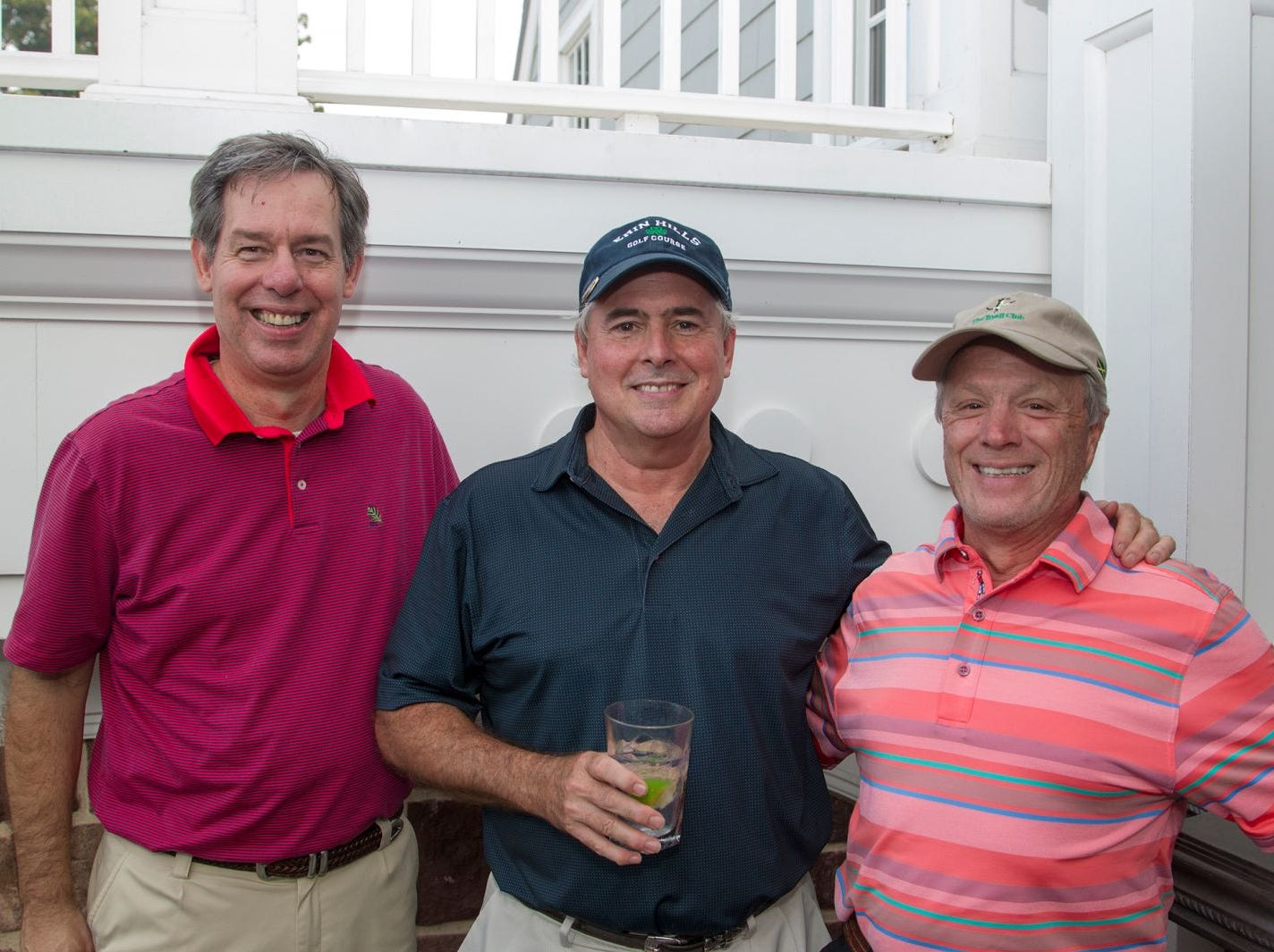 Bob Zak, Peter Gould, Ray Ruffino. Institute for Educational Achievement held its 23rd annual Golf Classic at Hackensack Golf Club in Oradell. 10/01/2018
