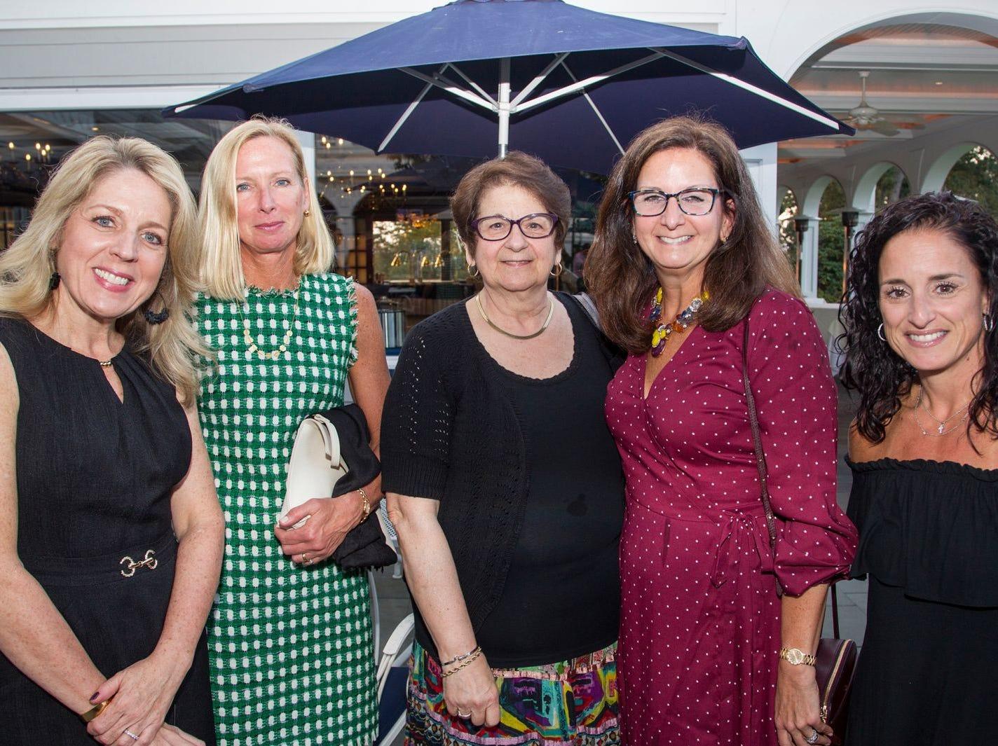 Maria Bushman, Cathy Visneron, Marsha Allen, Joanne Salerno, Alison Sharkey. Institute for Educational Achievement held its 23rd annual Golf Classic at Hackensack Golf Club in Oradell. 10/01/2018