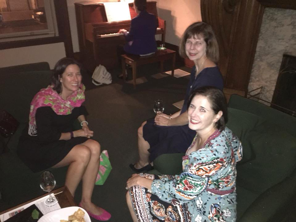 Stephanie Mills, Sally Merchant, Britt Tunick. Rebuilding Together North Jersey's 20th anniversary celebration honoring the junior league and boiling springs bank at the Hamilton club in Paterson. 09/27/2018