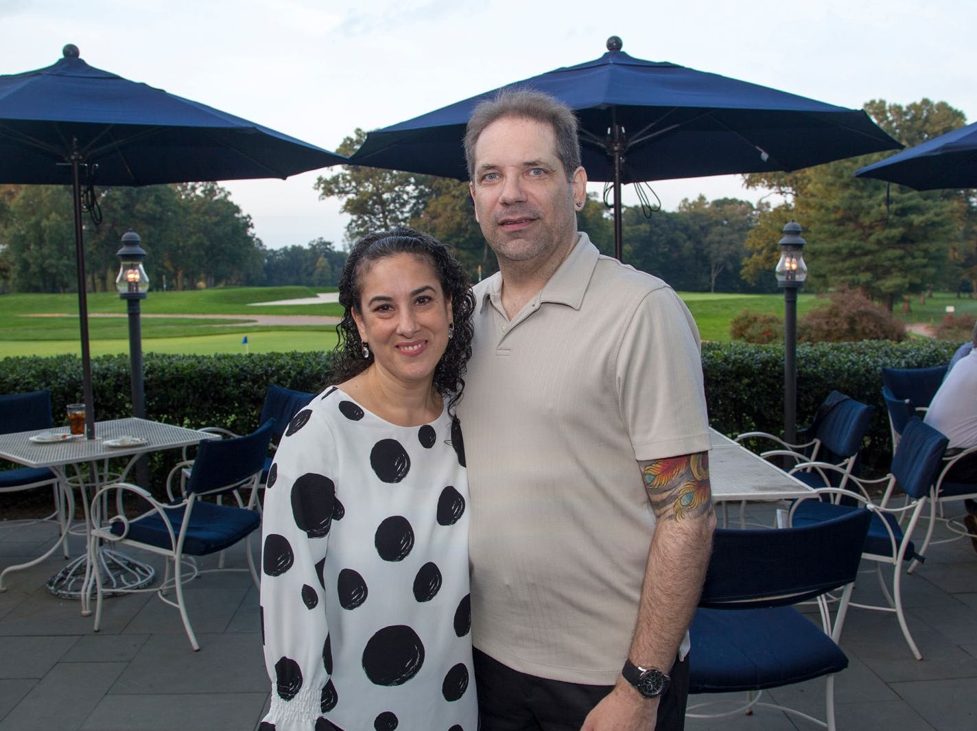 Donna DeFeo (Director), Doug Hedge. Institute for Educational Achievement held its 23rd annual Golf Classic at Hackensack Golf Club in Oradell. 10/01/2018