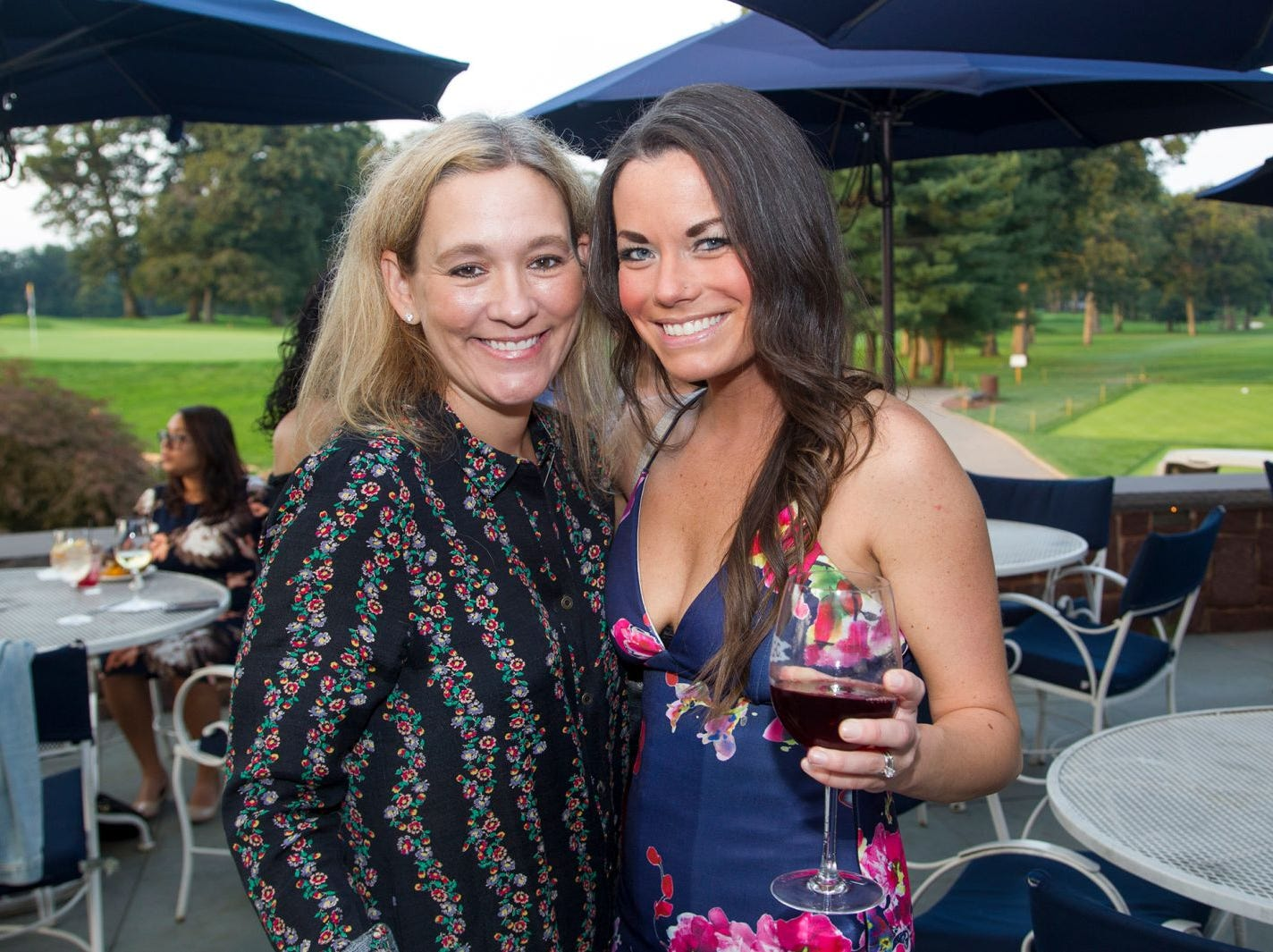 Michaele Kavesh, Kasey McBain. Institute for Educational Achievement held its 23rd annual Golf Classic at Hackensack Golf Club in Oradell. 10/01/2018