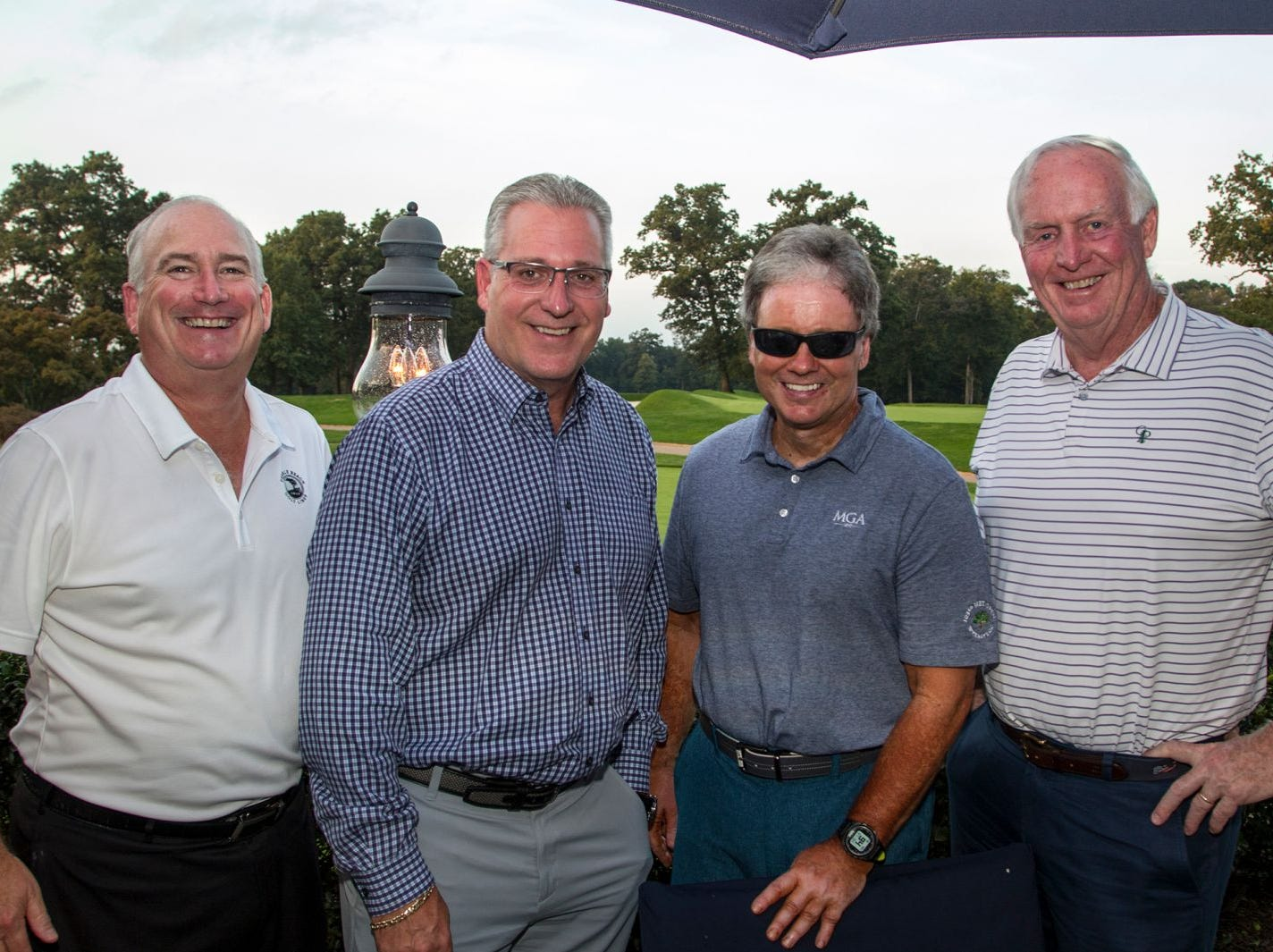 John Trobiano, Tim Tracy, Doug Vicari, Mike Vigs. Institute for Educational Achievement held its 23rd annual Golf Classic at Hackensack Golf Club in Oradell. 10/01/2018