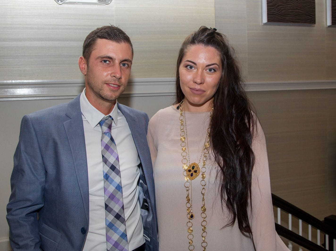 "Anton and Julia Bobytskyi. Edgewood Country Club, in partnership with Golf Kitchen magazine, host the ""Golf Kitchen/Edgewood Fine Dining Soirée and Golf Kitchen Culinary Excellence Awards.""  10/04/2018"