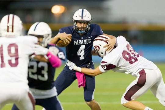 Paramus quarterback Trevor Bopp (4) is among a handful of returnees from a team that in 2018 produced a program-best 10-1 season.