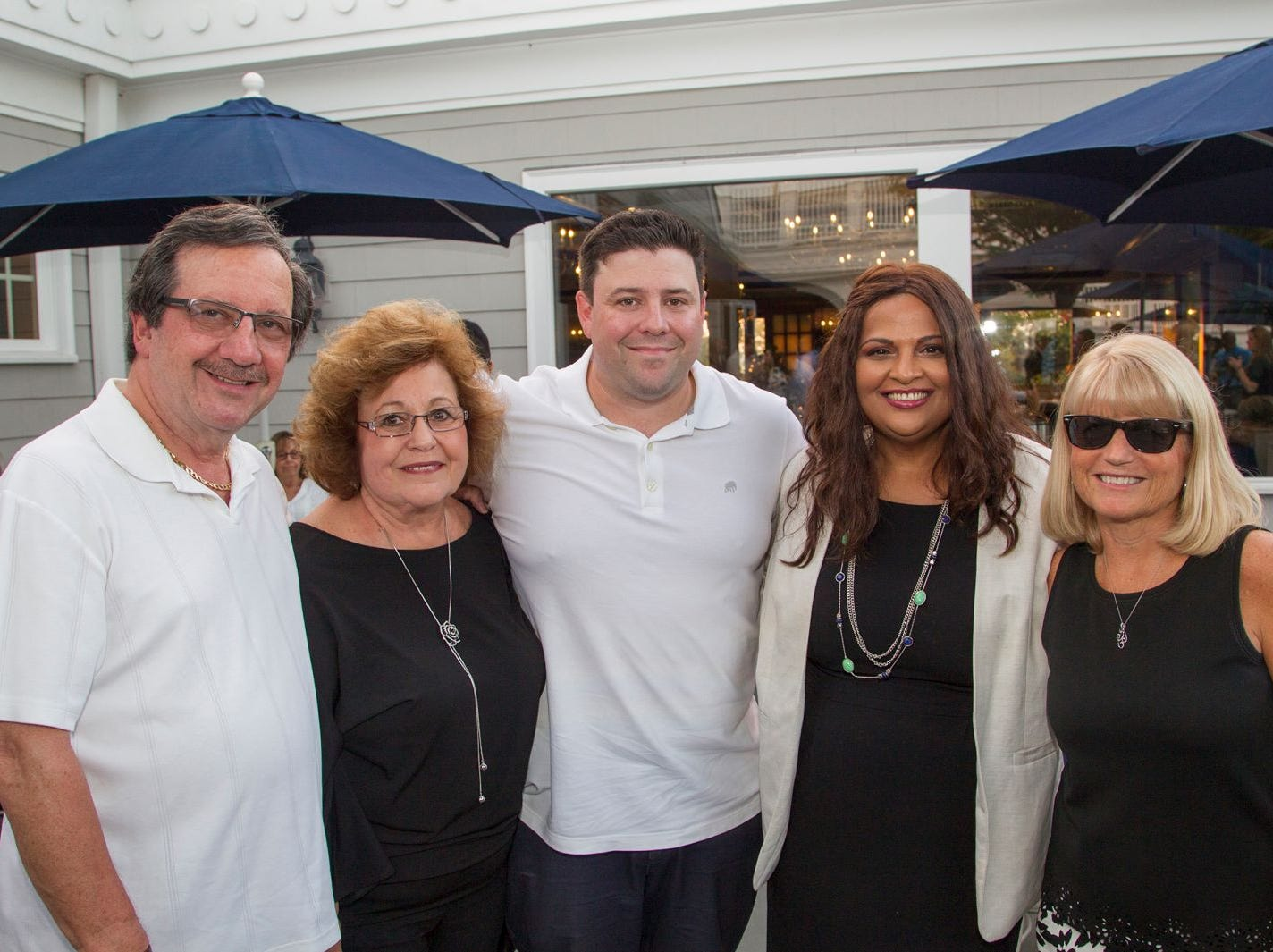 Bruce and Evelyn Butzel, Eric and Elma Butzel, Diane Lento. Institute for Educational Achievement held its 23rd annual Golf Classic at Hackensack Golf Club in Oradell. 10/01/2018