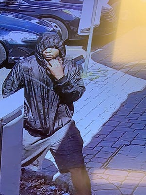 Police are searching for information about this unknown man who is suspected of robbing the Englewood Rita's at knifepoint.