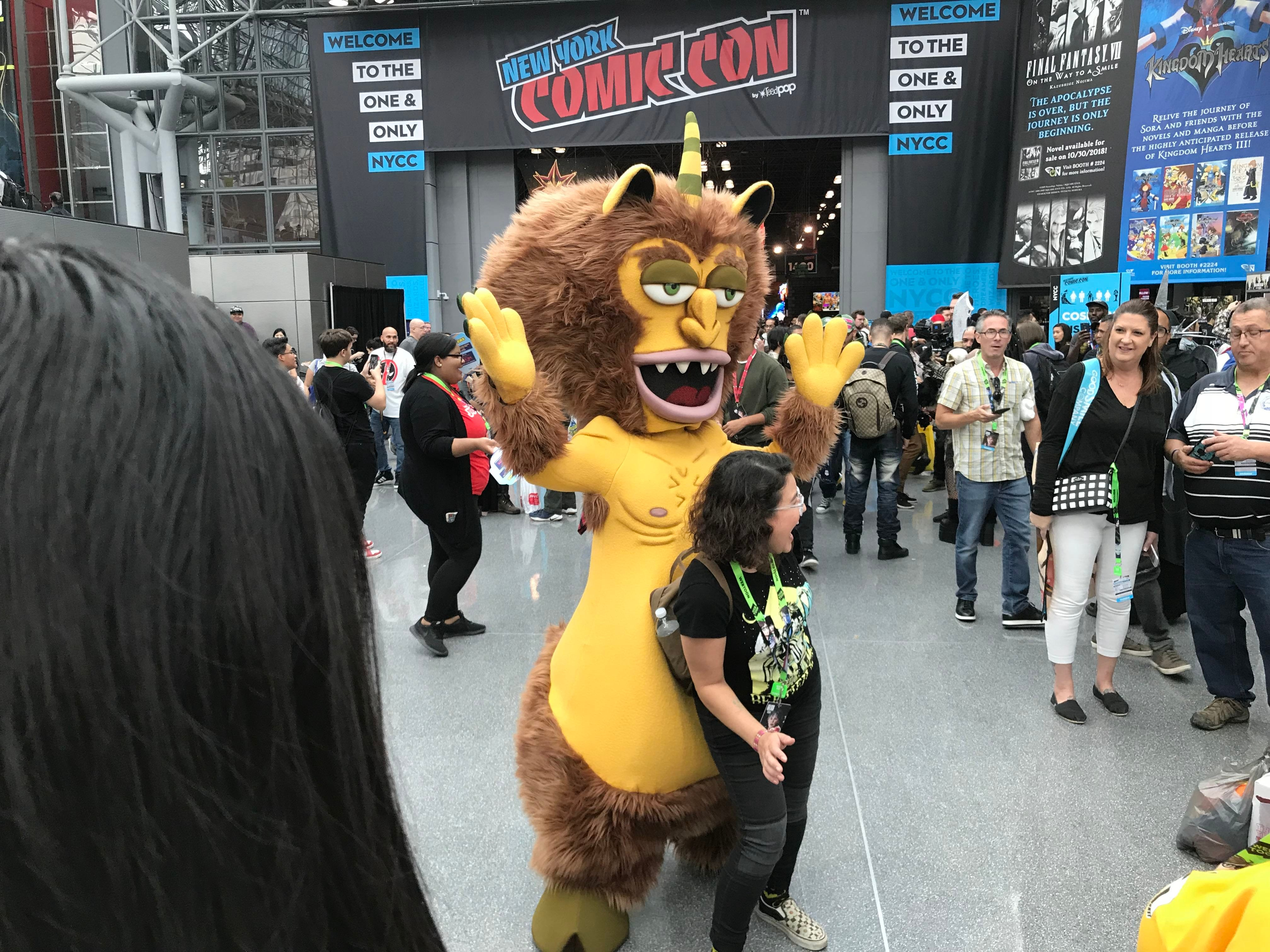 Scenes from the first day of New York Comic Con at the Javits Convention Center in New York City on Thursday, Oct. 4, 2018