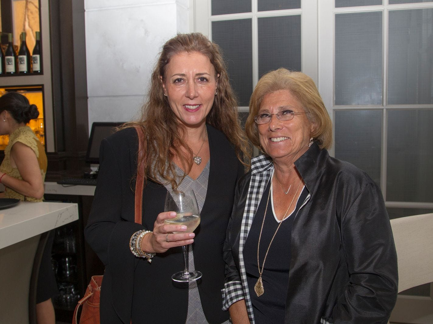 "Deana Cynar and Marilyn Thiesfeldt. Edgewood Country Club, in partnership with Golf Kitchen magazine, host the ""Golf Kitchen/Edgewood Fine Dining Soirée and Golf Kitchen Culinary Excellence Awards."" 10/04/2018"