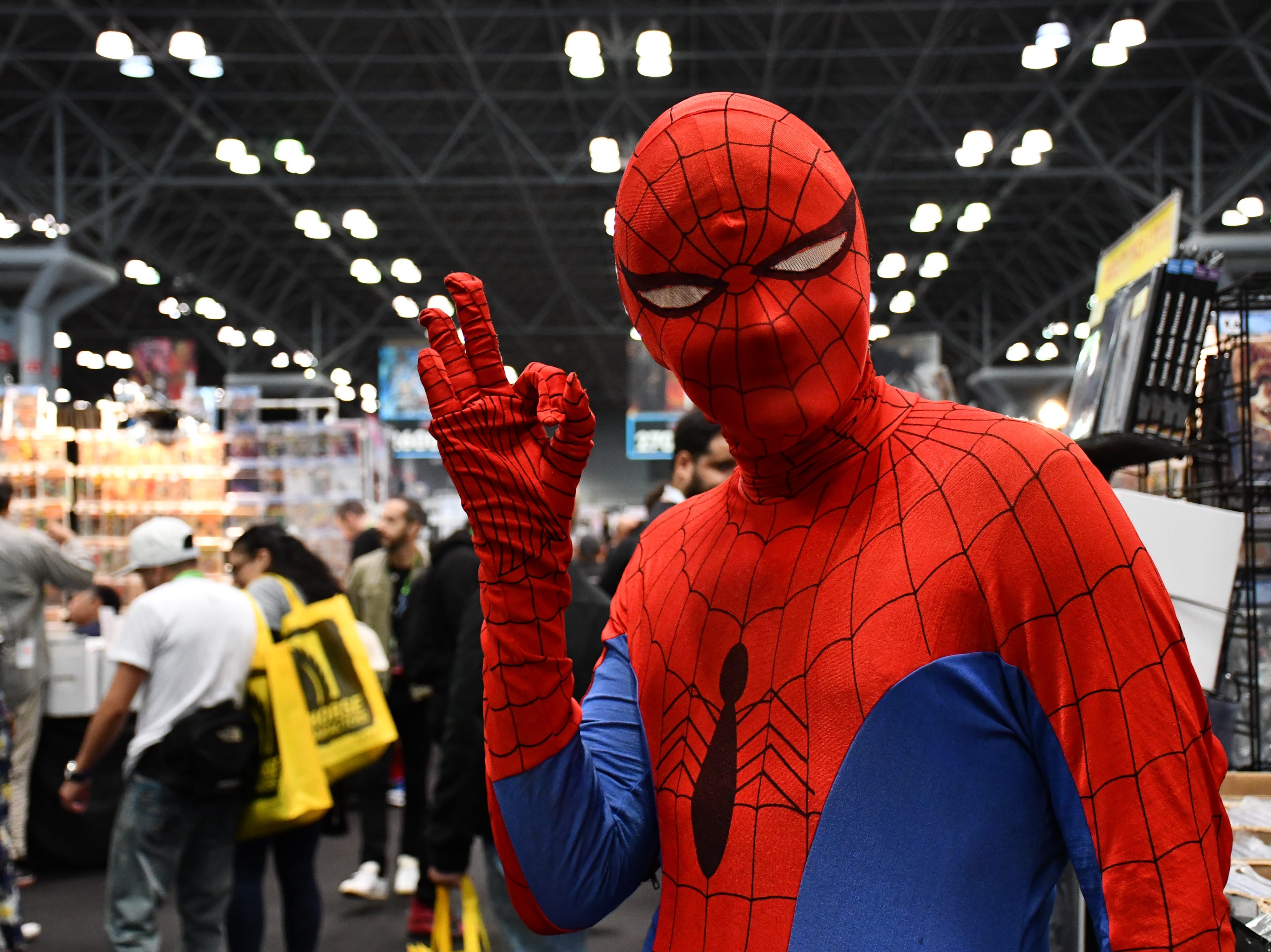 Scenes from Day 2 of the New York Comic Con at the Jacob K. Javits Convention Center in New York City on Friday, Oct. 5, 2018.