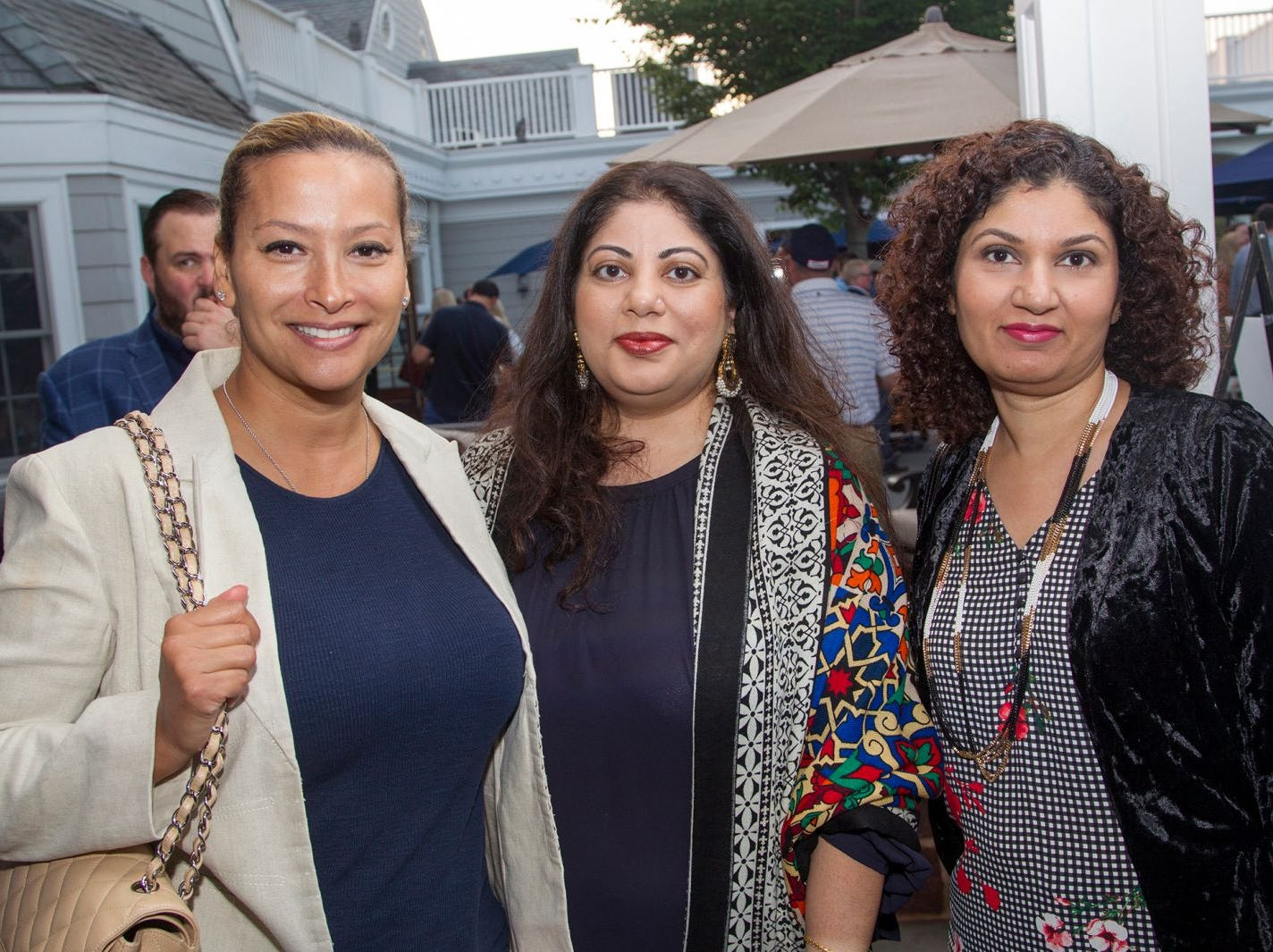 Allison Zayas, Nadia Matin, Kathleen Wiltan. Institute for Educational Achievement held its 23rd annual Golf Classic at Hackensack Golf Club in Oradell. 10/01/2018