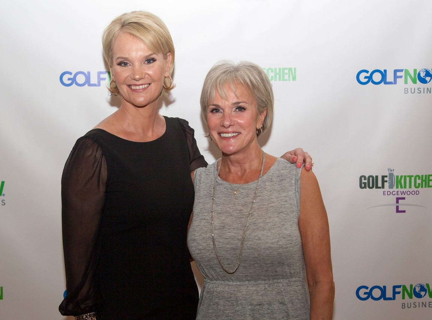 "Diana DeLucia (Editor Golf Kitchen) and Candice Timmerman. Edgewood Country Club, in partnership with Golf Kitchen magazine, host the ""Golf Kitchen/Edgewood Fine Dining Soirée and Golf Kitchen Culinary Excellence Awards.""  10/04/2018"