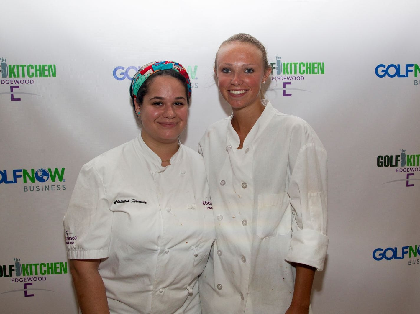 "Christina Ferraiola, Lauren Bradley. Edgewood Country Club, in partnership with Golf Kitchen magazine, host the ""Golf Kitchen/Edgewood Fine Dining Soirée and Golf Kitchen Culinary Excellence Awards.""  10/04/2018"
